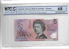 Australia/Reserve Bank of Australia pick 57g 2012 5 Dollars PCGS 68 OPQ