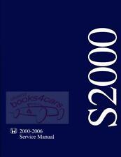 SHOP MANUAL S2000 SERVICE REPAIR HONDA BOOK WORKSHOP HAYNES CHILTON