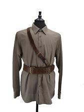 Military Leather Sam Browne Belt - Shoulder Harness - Shoulder Strap