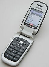Samsung SCH-U430 Black Verizon CDMA Flip Cell Phone Bluetooth Calculator Notepad