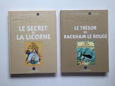 TINTIN LE SECRET DE LA LICORNE & RACKHAM LE ROUGE - LES ARCHIVES - HERGE BD EO
