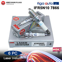 Spark Plug NGK IFR5N-10 7866 Laser Iridium fit JAGUAR XF RANGE ROVER (Pack of 6)