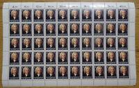 50 x Bund 1249 postfrisch Bogen Formnummer FN 0 BRD CEPT Johann S.Bach 1985 MNH