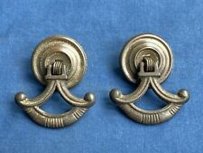 2 Vintage Drawer Drop Pull Handles Furniture Hardware Salvage