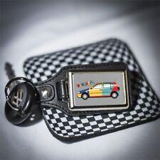 VW POLO HARLEKIN KEYRING Volkswagen retro style classic look keyfob gift classic