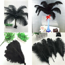 Ostrich feathers 6-28'inch/15-70cm High Quality White 10-100 pcs Wholesale black