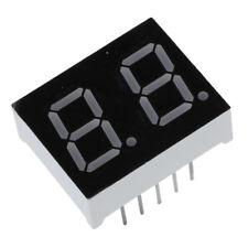 """5 Pz catodo comune 10 Pin 2 Bit 7 segmenti 0.4 """" rosso Display a LED Tubo d B7H1"""