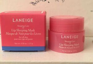 LANEIGE Lip Hydration Sleep Mask Sample/Travel Size (2.5g/.08oz) KOREAN BNIB!