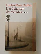 Carlos Ruiz Zafon Der Schatten des Windes Roman Suhrkamp Buch