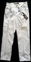 CAMBIO Damen Jeanshose mit SWAROVSKI ELEMENTS Weiß Gr. 32 und 36