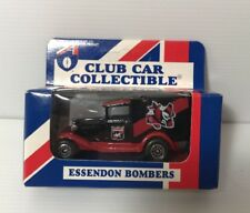 AFL ESSENDON BOMBERS Car Collectibles Model A Ford 1995 Matchbox Toys NEW