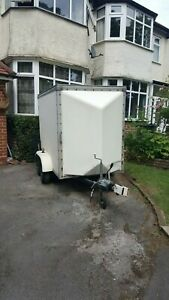 Twin Axle Box Trailer - Tow-A-Van Water Tight 10ft x 4ft Great condition