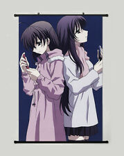 NEW School Days Wall Scroll Poster Home Decor Japan Anime Stoffposter 45x68CM