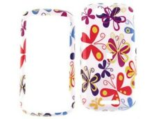 Solid Plastic Design Phone Cover Butterfly For Motorola CLIQ