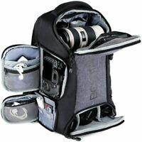 Beschoi DSLR SLR Camera Backpack Bag Case Waterproof Rain Cover for Canon Nikon