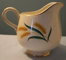Vintage Laughlin Gold Trim Royal Harvest Wheat Creamer