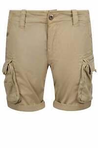 ALPHA INDUSTRIES Crew Cargo Shorts Sand
