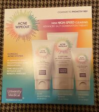 Acne Wipeout -As Seen On TV - Advanced Combo Therapy Clinical Acne System - NEW!