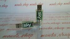 sky digital key dvb-t chiavetta digitale terrestre led blu MIGLIOR PREZZO EBAY