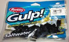 """Berkley Gulp Saltwater 1/2"""" Sand Crab Flea - Black"""