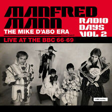 Manfred Mann : Radio Days: The Mike D'Abo Era, Live at the BBC '66-'69 - Volume