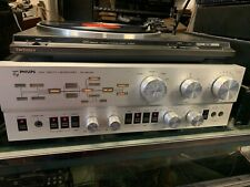 PHILIPS High Fidelity Labs Pre Amplifier Model 5721 great working order silver