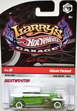 HOT WHEELS LARRY'S GARAGE #4/20 CLASSIC PACKARD GREEN
