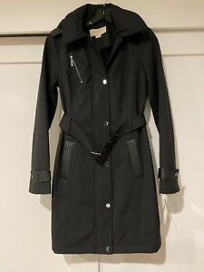 Michael Kors Trench Coat with detachable Hood size XS NWT $220