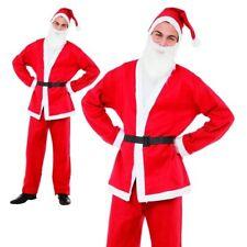 Hommes Santa Costume Père Noël Déguisement Noël Déguisement Adulte Costume Neuf