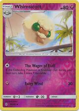 x4 Whimsicott  - 91/145  - Uncommon - Reverse Holo Pokemon SM2 Guardians Rising