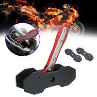 Car Ratchet Brake Piston Spreader Wrench Caliper Pad Install Tool Press Red