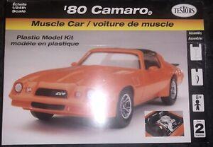 Testors 1970 Chevrolet Camaro BNIB Model Kit - 1:24 Scale