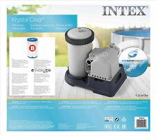 Intex Krystal Clear Filter Pump 9462l/h 2,500 gph gallon per hour For Large Pool