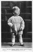 POSTCARD   ROYALTY   Hon  George Henry Hubert  Lascelles