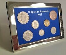 More details for 60th birthday, anniversary or retirement gift. 1961 coin year set; gift boxed
