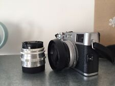 Vintage Carl ZEISS Jena TESSAR 2.8/50 red 'T' LENS 50mm f2.8 M42 lens