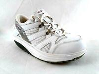MBT Womens Rocker Walking Sneakers White Sport Shoes Size 7