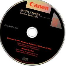 Canon Digital Camera Solution Disk v102.0 ImageBrowser PhotoStitch CameraWindow