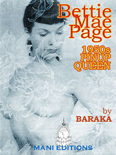 Bettie Mae Page 50s Pinup Queen CLASSIC NUDE MODEL BIO 80 FINE PHOTOS CD-ROM y