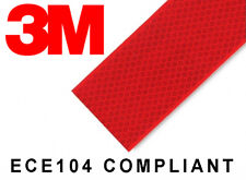 3m 983 Rojo Cinta reflectante 55mm x 50m ECE104 compatible (3m DIAMOND TIPO )