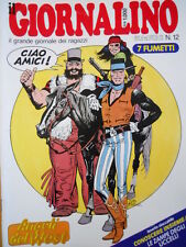 Giornalino 12 1985 I Promessi Sposi di Piffarerio I Puffi Pinky + inse     [C19]