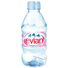 Evian Natural Mineral Water 24x330ml Plastic Bottle - UKB693