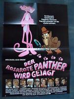 DER ROSAROTE PANTHER WIRD GEJAGT - Filmplakat A1 - Peter Sellers - KULT