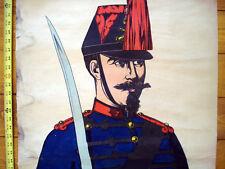 Vintage Imagerie Pellerin Artilleur Armee Francaise (c1860-1870) Inv1616