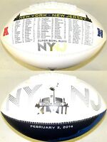 Road to the Super Bowl 48 XLVIII Rawlings Fotoball Full Size NFL NY NJ Football