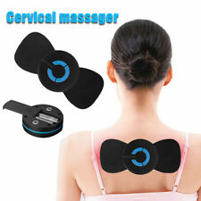 Portable Mini Electric Neck Massager Cervical Massage Stimulator Pain Relief