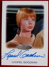 Star Trek Tos - Laurel Goodwin as Yeoman Colt Women Of Star Trek Autograph Card