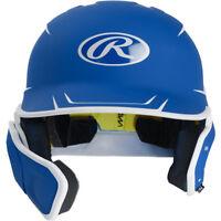 Rawlings Adult Mach Two-Tone Matte Batting Helmet W/ Extension