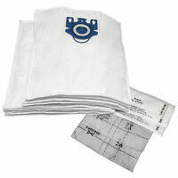 Microfiber Vacuum Bags Designed to Fit Miele GN Models 10-pack with 4 Filters