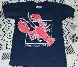 Kadees Lobster & Clam Bar Restaurant Tee Shirt Orleans Cape Cod Youth XS (2-4)